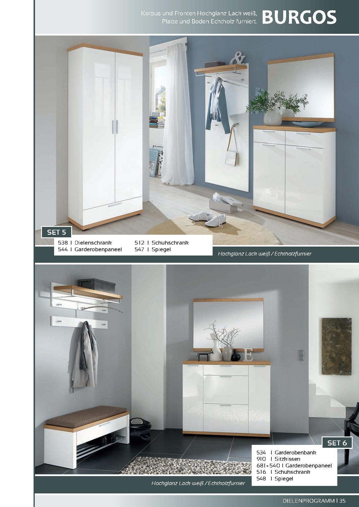 BBM Parchim, Möbel A-Z, Schränke + Wohnwände, Schuhschränke ...